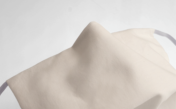 Mundschutz von Lagano mit unsichtbar vernähtem Nasenbügel