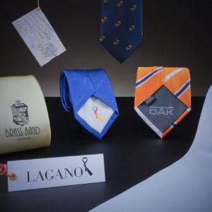 Krawatten mit Logos