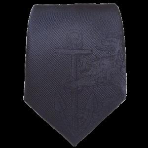 Feuerwehr-Krawatte mit Blind-Logo.